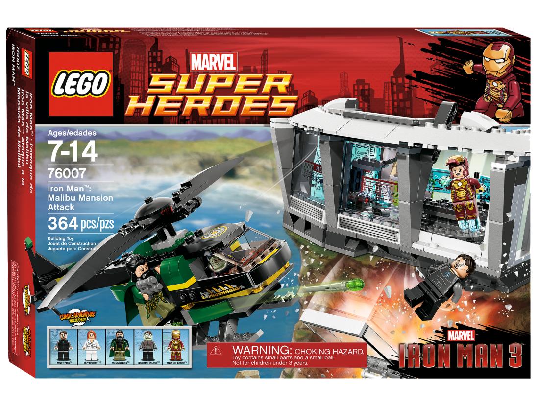 76007 Железный Человек: Атака особняка в Малибу Конструктор ЛЕГО Супергерои