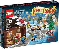 60024 Рождественский календарь. Конструктор ЛЕГО Город Lego City