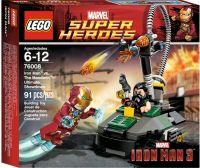 76008 Железный человек против Мандарина Конструктор ЛЕГО Супергерои
