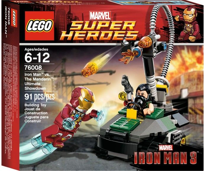 Супер герои 76008 железный человек