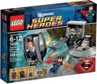 76009 Супермен: Побег Блэк Зеро Конструктор ЛЕГО Супергерои