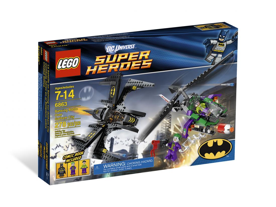 6863  Бэтмэн: Бой за Готэм Сити Конструктор ЛЕГО Супергерои