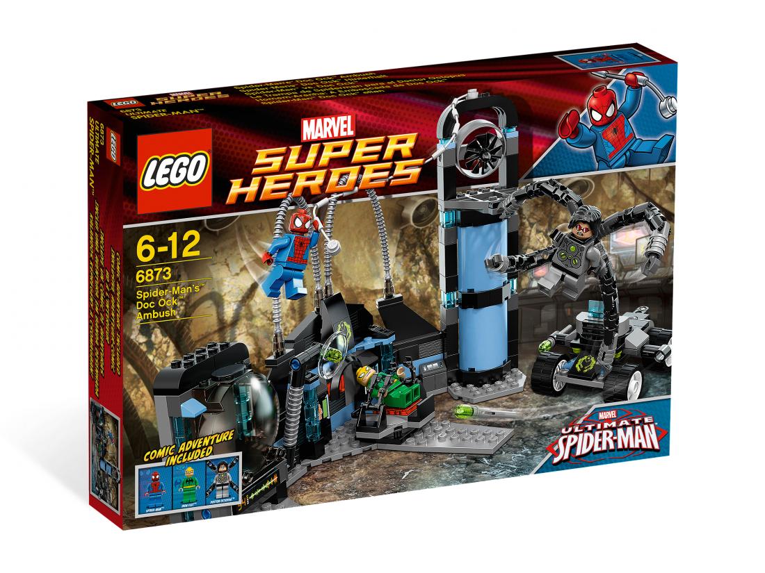 6873 Человек-паук: Засада Доктора Октопуса Конструктор ЛЕГО Супергерои