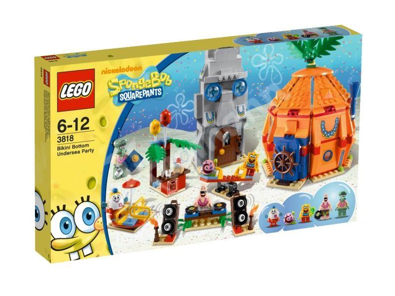 3818 Спанч Боб: Подводная Вечеринка в Бикини Боттом Конструктор ЛЕГО Спанч Боб