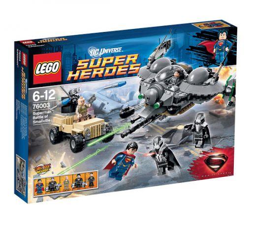 76003 Супермен: Битва за Смолвиль Конструктор ЛЕГО Супергерои
