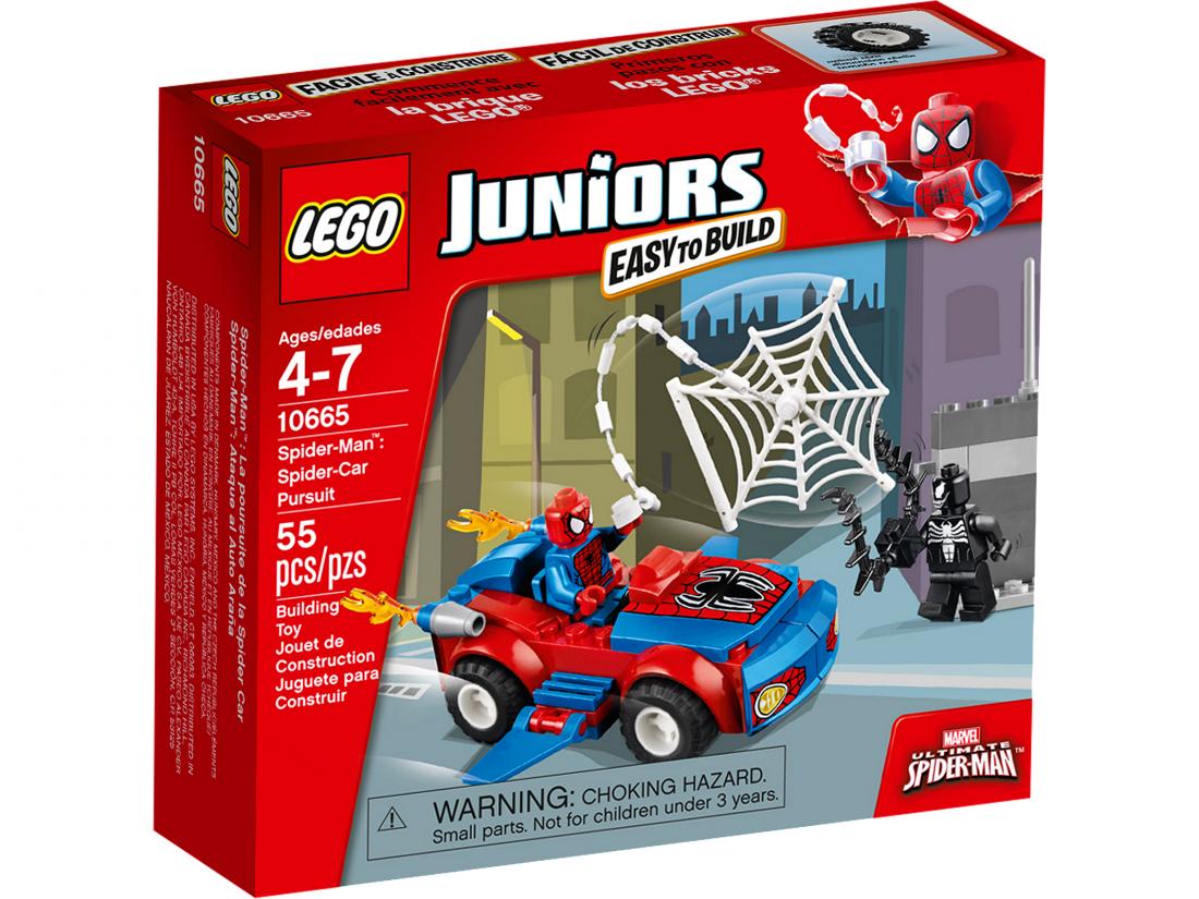 10665 Человек паук: Преследование на Спайдер-автомобиле Конструктор ЛЕГО Супергерои