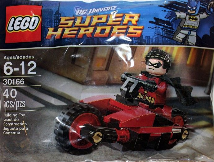 30166  Робин на мотоцикле Конструктор ЛЕГО Супергерои