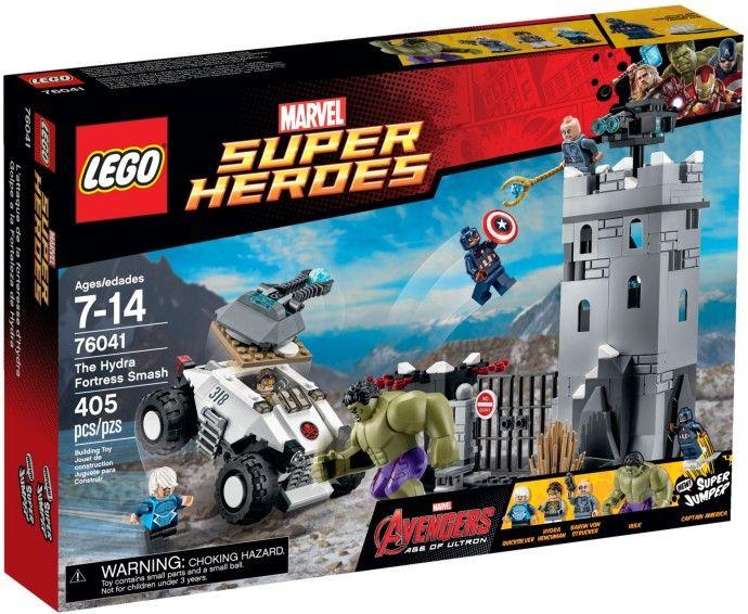 76041 Халк: Нападение на крепость Гидры Конструктор ЛЕГО Супергерои