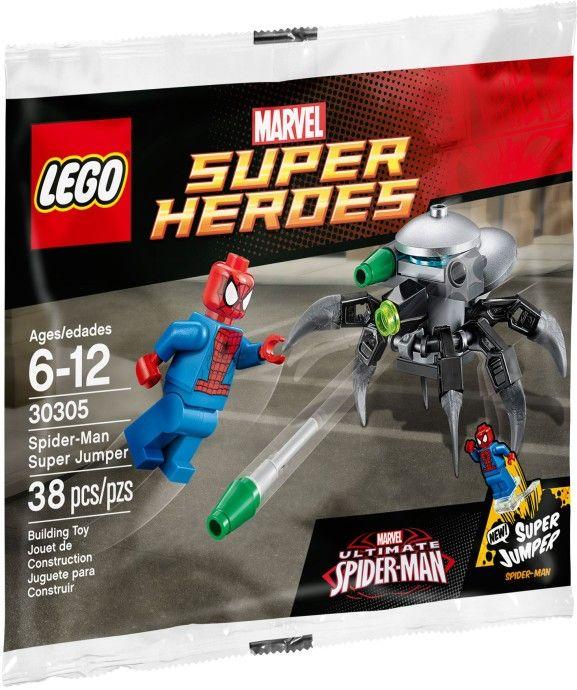30305 Суперпрыжок Человека-Паука Конструктор ЛЕГО Супергерои