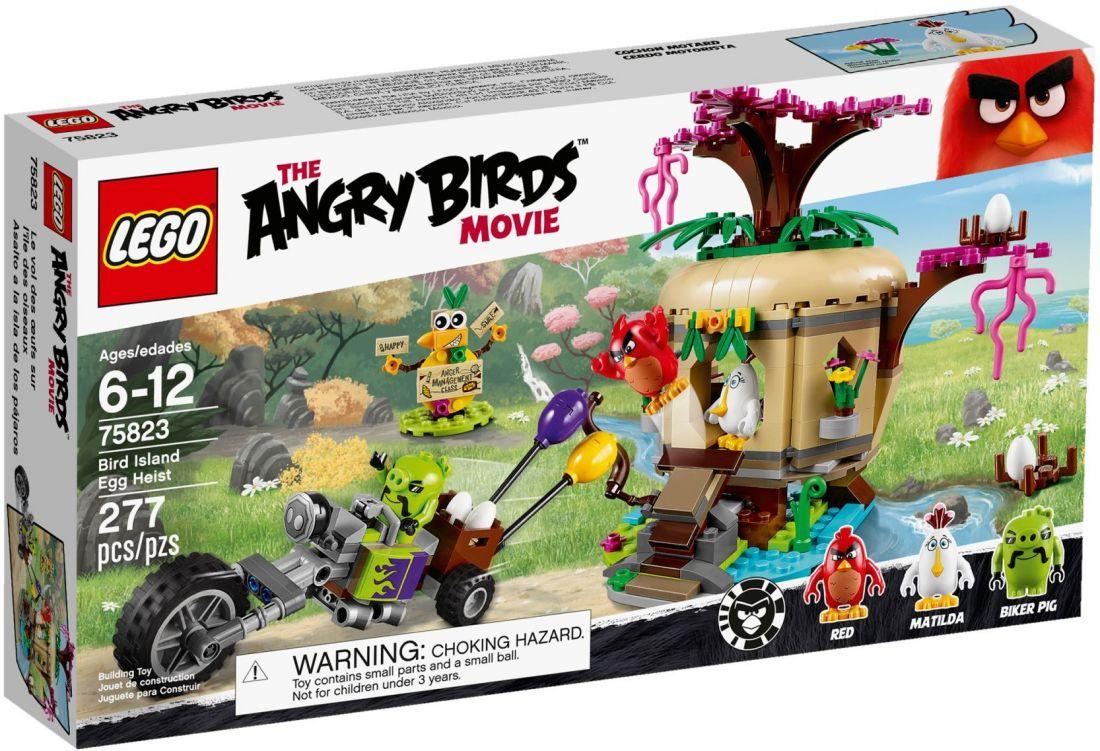 75823 Кража яиц с птичьего острова Конструктор ЛЕГО Angry Birds