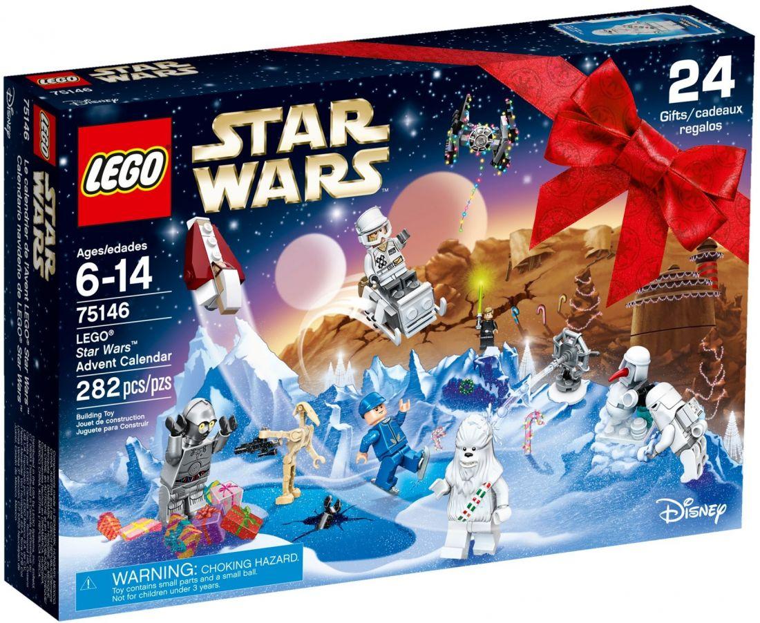 75146 Рождественский календарь-2016. Конструктор ЛЕГО Звёздные войны