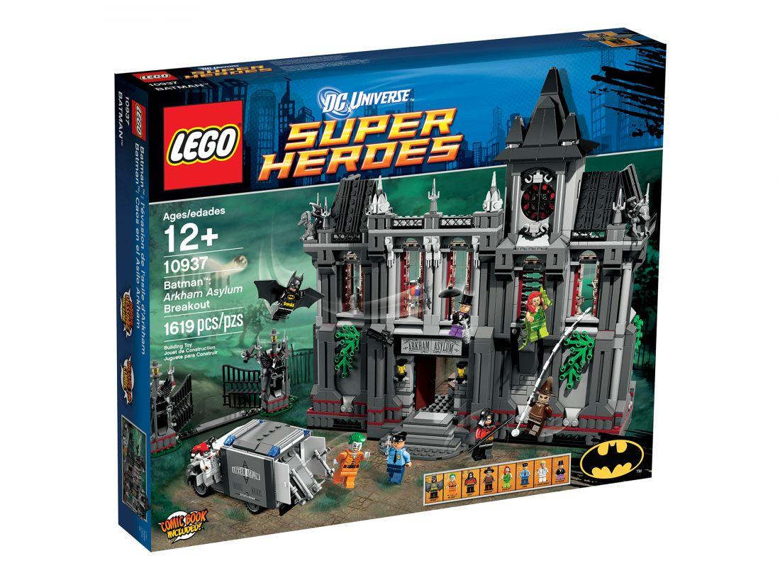 10937 Бэтмен: Побег из психиатрической клиники Аркхэм Конструктор ЛЕГО Супергерои