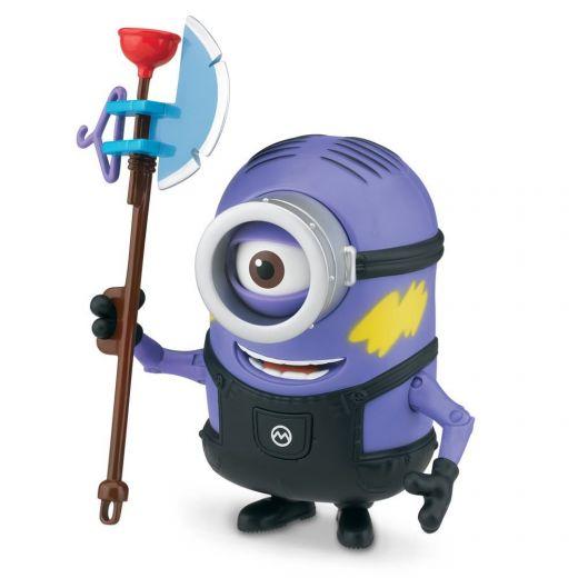 Игрушка Фиолетовый миньон Стюарт с топором