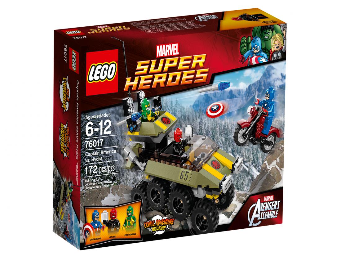 76017  Мстители: Капитан Америка против Гидры Конструктор ЛЕГО Супергерои