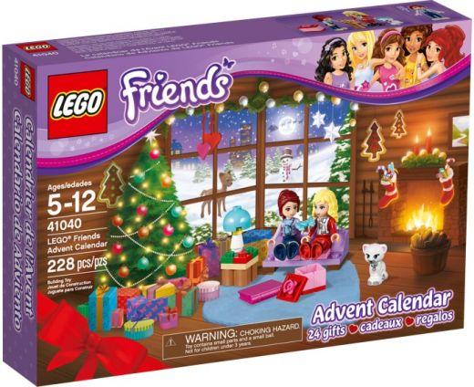 Рождественский календарь Подружки 2014. ЛЕГО 41040