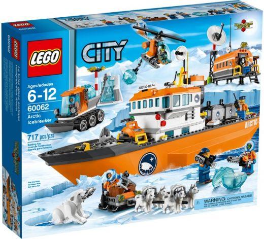 60062 Арктический ледокол. Конструктор ЛЕГО Город Lego City