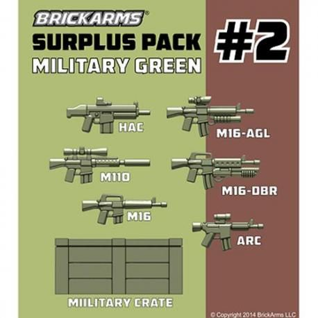 Surplus Pack #2 Military green