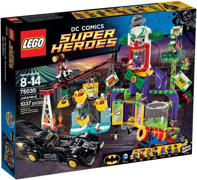 76035 Супергерои: Джокерленд Конструктор ЛЕГО Супергерои