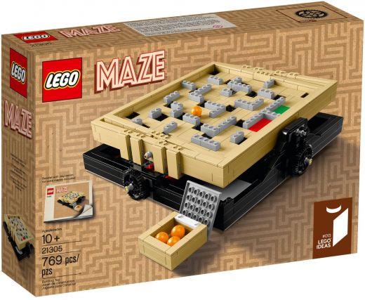 Lego Ideas: Лабиринт Marble Maze Конструктор ЛЕГО 21305