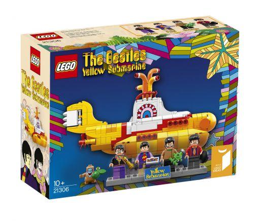 Битлз: Жёлтая подводная лодка. Конструктор ЛЕГО Ideas 21306