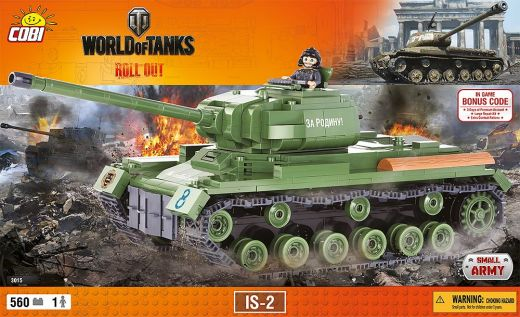 КОБИ World of Tanks - Танк ИС-2 COBI 3015