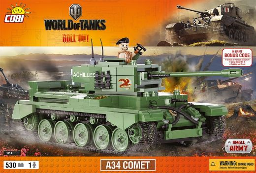 КОБИ  World of Tanks - танк A34 Comet COBI-3014
