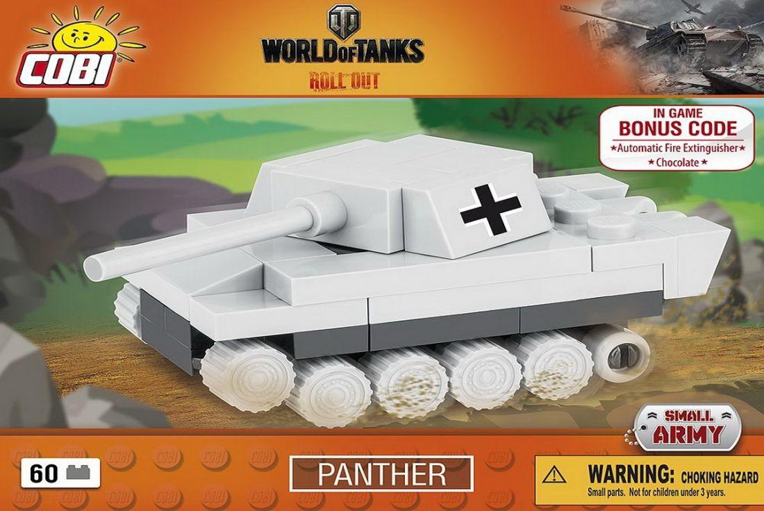 КОБИ World of Tanks - Танк nano Panther COBI 3019